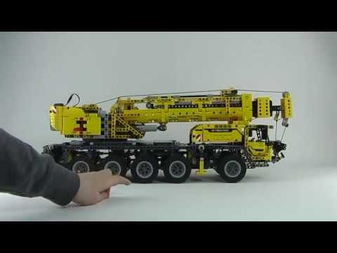 teil 1 review des lego technic mobiler schwerlastkran. Black Bedroom Furniture Sets. Home Design Ideas