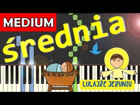 🎹 Lulajże Jezuniu - Piano Tutorial (średnia wersja) 🎹