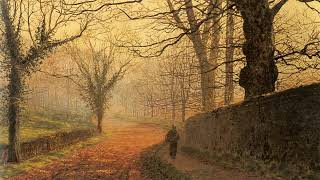 John Atkinson Grimshaw's paintings and four music