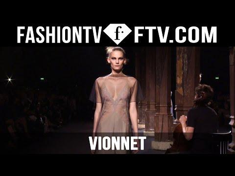 Vionnet Spring 2016 Collection at Paris Fashion Week | PFW | FTV.com