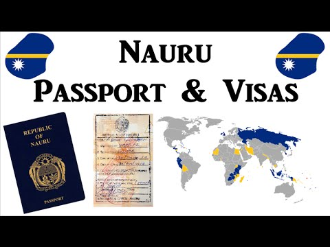 Nauru - Passport & Visas