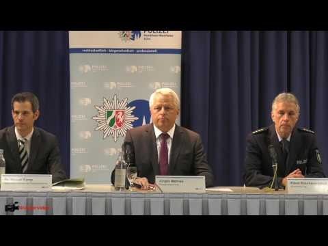 AfD Bundesparteitag 2017 | Polizei Pressekonferenz