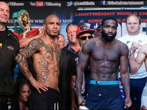 Miguel Cotto vs Adrien Broner