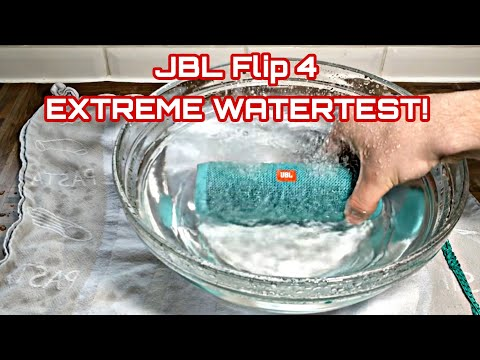 JBL Flip 4 - Extreme Watertest #1