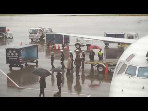 Fallen Marine Soldier | Raleigh Durham International Airport | Delta Airlines