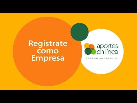 Haz tu registro como Empresa