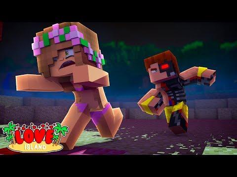 SCUBA STEVE TURNS INTO A KILLER ROBOT? | Minecraft Love Island | Little Kelly
