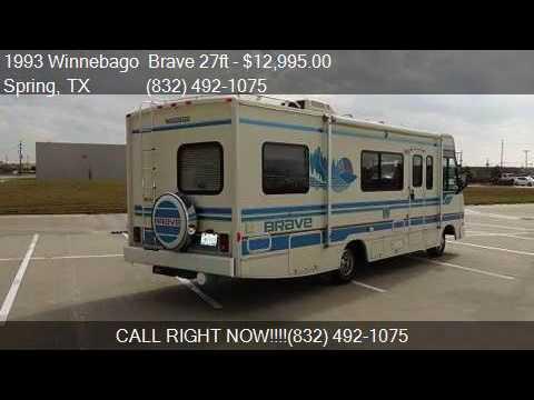 1993 Winnebago Brave 27ft for sale in Spring, TX 77388 at