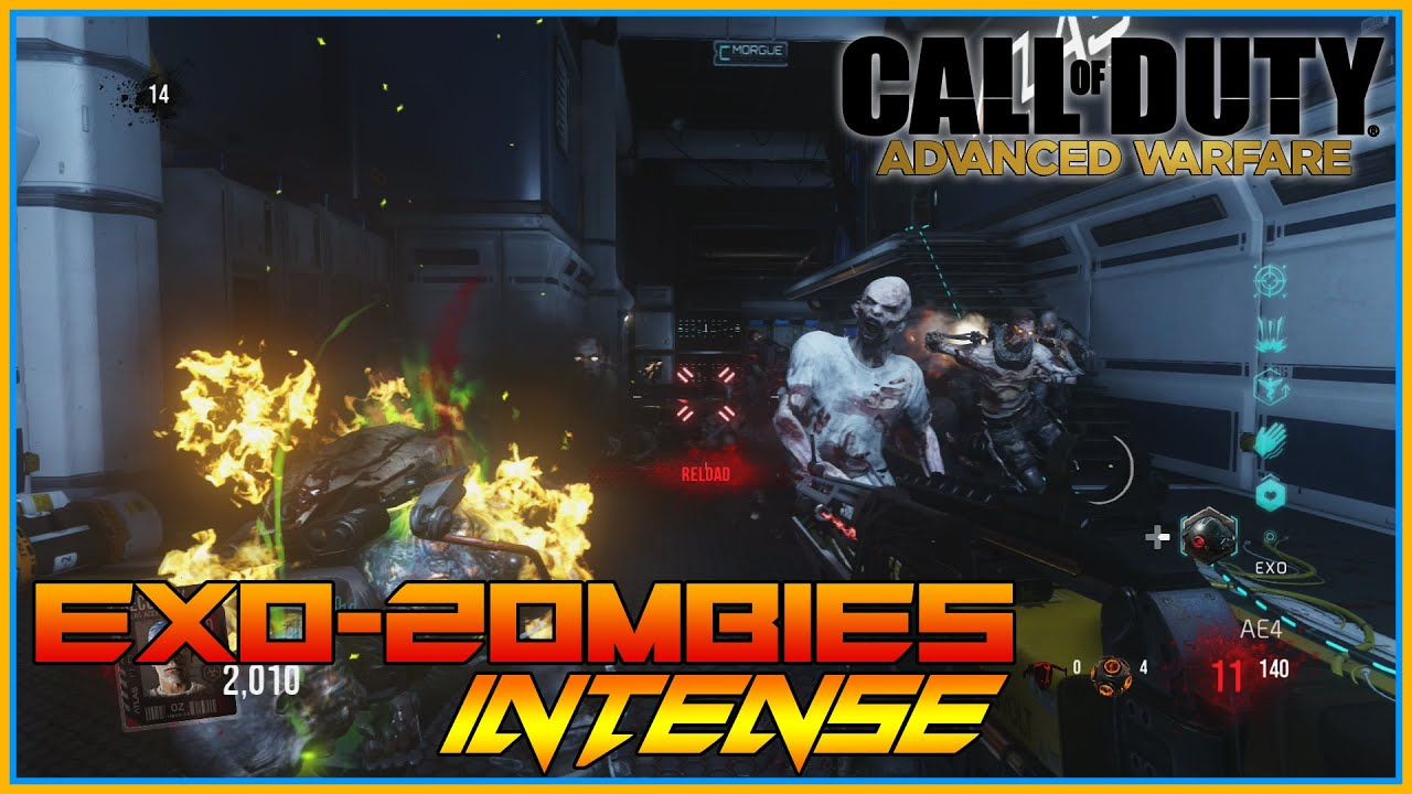 Call Of Duty Exo Zombies Intense Zombie Action Exo Suit Tactics Round 15 Insanity Part 5 Youtube