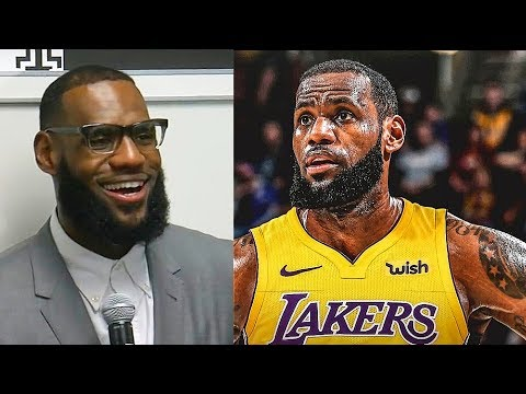 LeBron James On Joining Lakers and Leaving Cleveland Cavaliers!