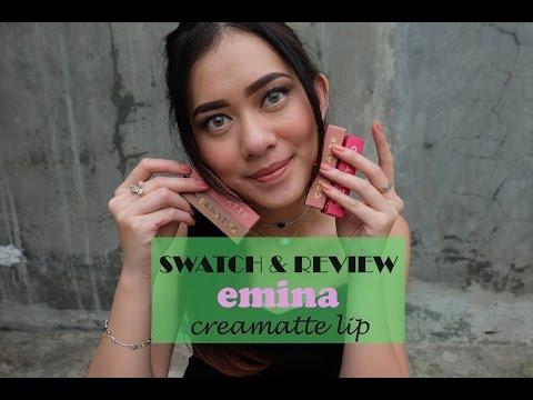 swatch-&-review:-emina-creamatte-lipstick-(favorite-shades)