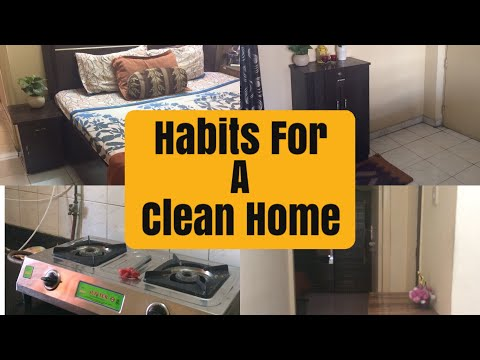 10 Habits To Keep Your House Clean  In Hindi