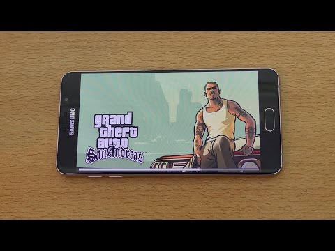 Samsung Galaxy A7 (2016) Gaming Review GTA San Andreas (4K)