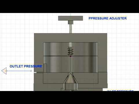 How does a pressure regulator work