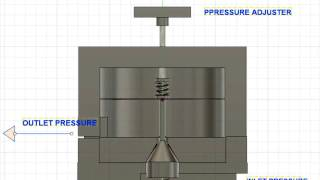 How does a pressure regulator work