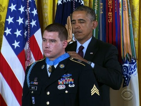 Medal Of Honor Recipient Shares Harrowing Tale Of Heroism