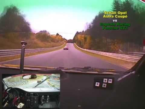 Onboard: Schall Motorsport vs Captain Racing - VLN 2008
