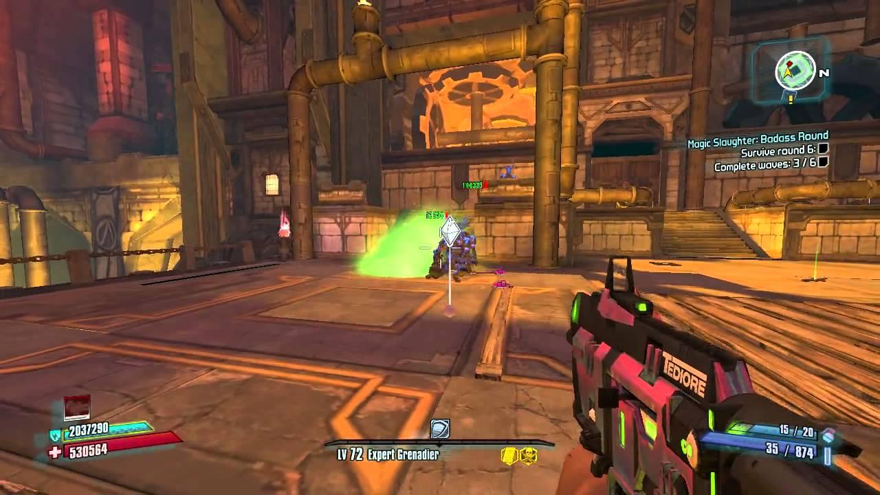Tediore/Fastball build questions - Axton the Commando - The