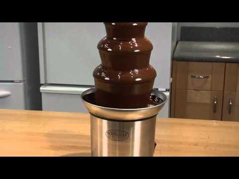 Kotula's 3 Tier Chocolate Fountain by Nostalgia Electrics