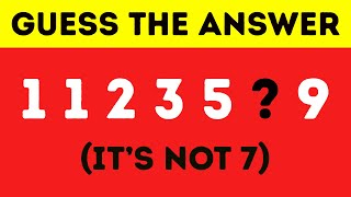 99% FAIL TO SOLVE THIS IN 10 SECONDS! Test Your IQ Level