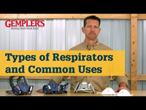 The Different Types Of Respirator Masks And Common Uses | Respirator Tips From GEMPLER'S