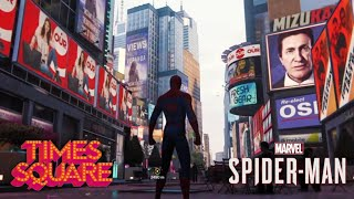 Spider-Man (PS4) Exploring Times Square