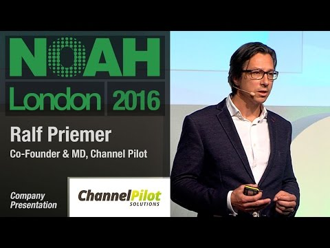 Ralf Priemer, Channel Pilot - NOAH16 London