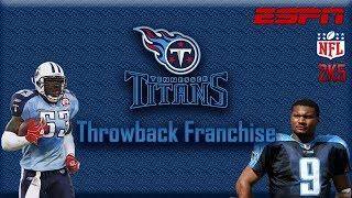 Remember These Titans? | ESPN NFL 2K5 Titans Franchise Intro