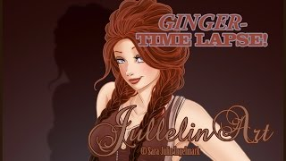 Ginger- Time Lapse Drawing!