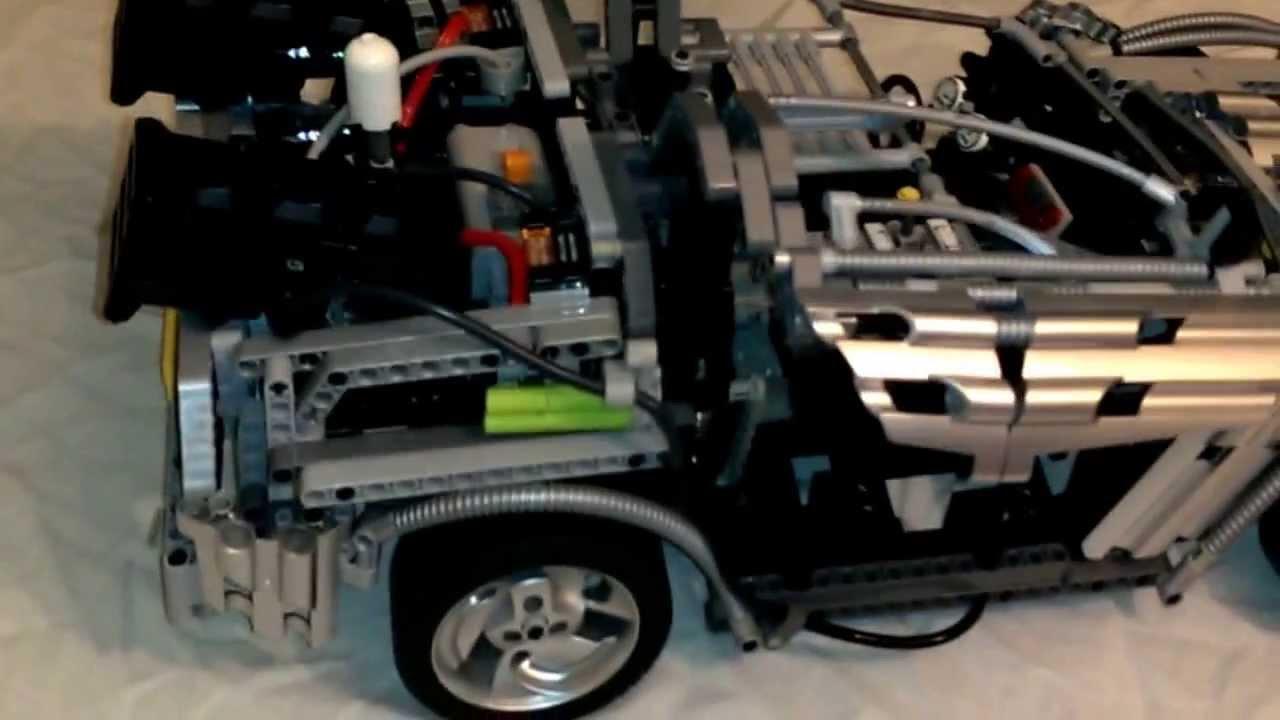 Lego Technic Back To The Future Delorean Youtube