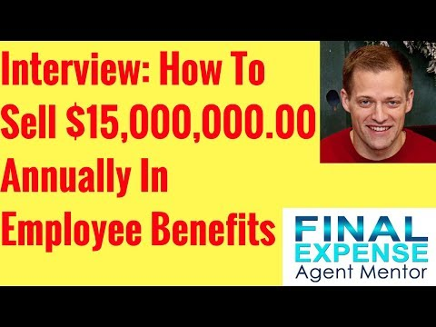 $15 Million Annually In Employee Benefits Insurance Sales Interview