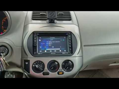 New Planet Audio Double Dim Radio I Installed In My 03 Nissan Altima