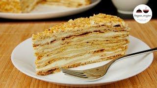 Заварной Медовый Торт  Рецепт Медовика простейший  Honey Cake