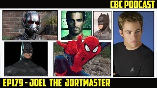 CBC Ep179 - Spider-Man Finalists & Director, JL Mortal, Batman in SS, Arrow in WWE
