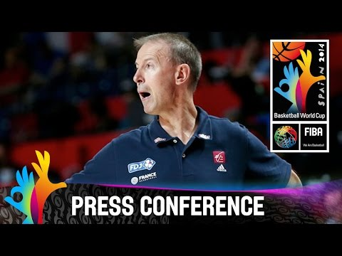France v Croatia - Post Game Press Conference - 2014 FIBA Basketball World Cup