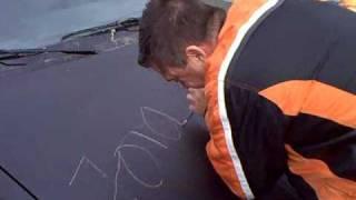 Jörg und Dragan Jörg unterschreibt mal ein wenig anders.