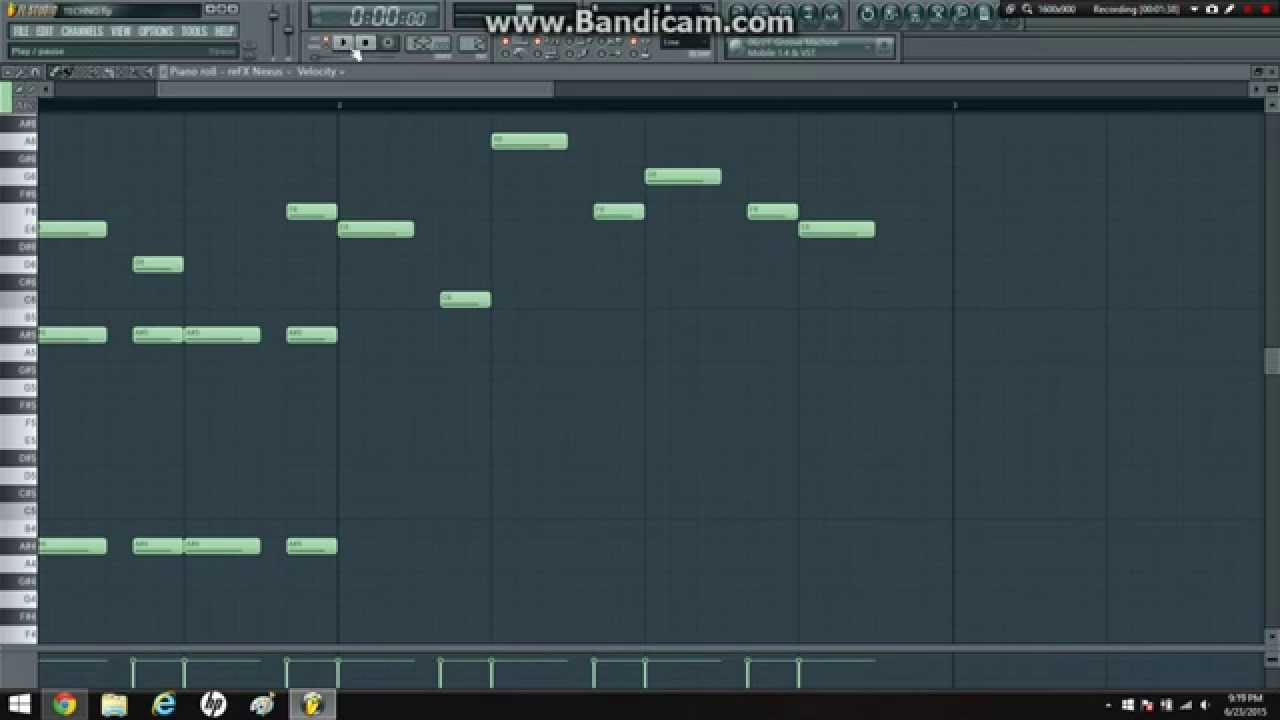Fl Studio - Techno Melody Tutorial