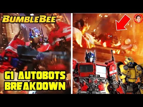 Bumblebee (2018) Optimus Prime CGI Design, G1 Wheeeljack, Arcee, Ironhide & Starscream Breakdown
