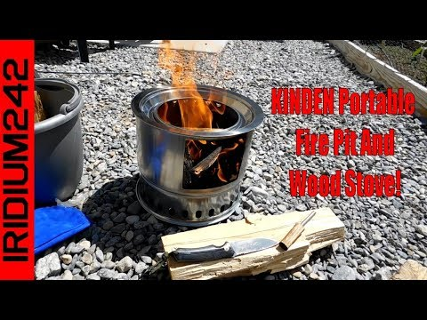 Budget Friendly: KINDEN Portable Firepit And Wood Stove