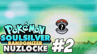 Pokemon SoulSilver Randomizer Nuzlocke Challenge | Part 2