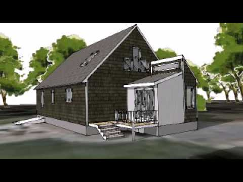 Schematic animation of mudroom addition youtube for Mudroom additions