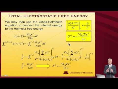 StatMolThermo 11.08 Debye-Hückel Theory 2