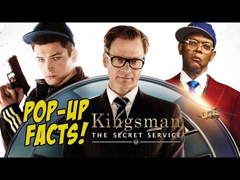 KINGSMAN: THE SECRET SERVICE - Pop-Up Movie Facts (2015) Matthew Vaughn, Taron Egerton Spy Movie