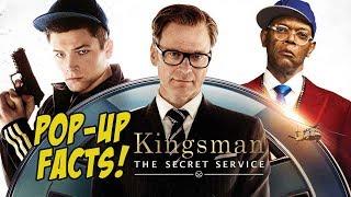 KINGSMAN: THE SECRET SERVICE - Pop-Up Movie Facts (2015) Matthew Vaughn, Taron Egerton Spy Movie
