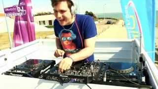 M6 MOBILE DJ EXPERIENCE : DJ Axel Paerel et son parrain DJ Adrien Toma à Bretignolles le 20/07