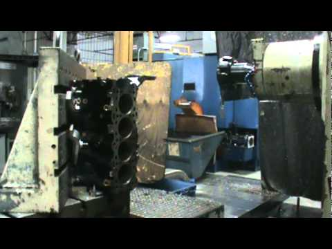 CGI finish milling using Rotary Technologies Corporation's Gen I C68R mill