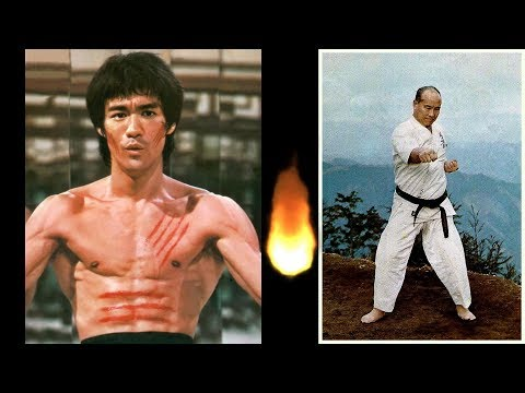 Bruce Lee Vs Mas Oyama Who Would Win Dream Fights (Short Version)