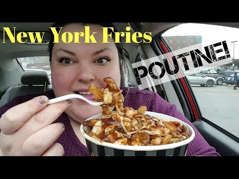 FAST-FOOD FRIDAY NEW YORK FRIES EXTRA CHEESE POUTINE!