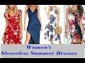 Women's Sleeveless Summer dresses, Women's outfit, Fashion