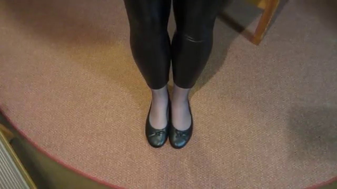 mein outfit des tages mit pu legging youtube. Black Bedroom Furniture Sets. Home Design Ideas